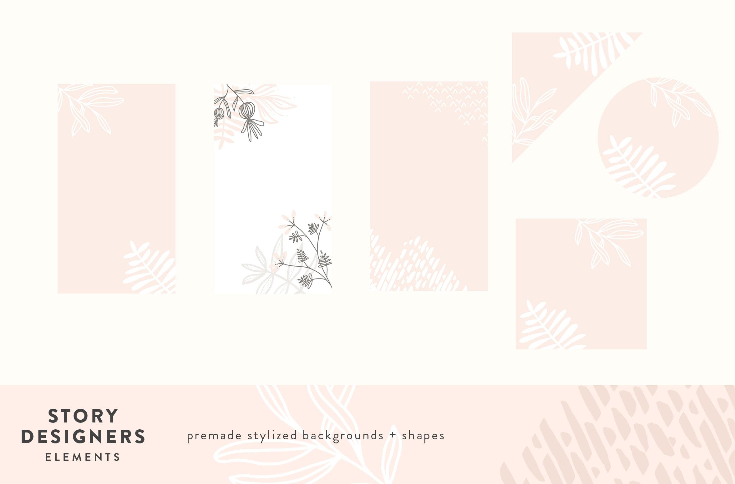 STORY DESIGNERS: Botanical Blooms