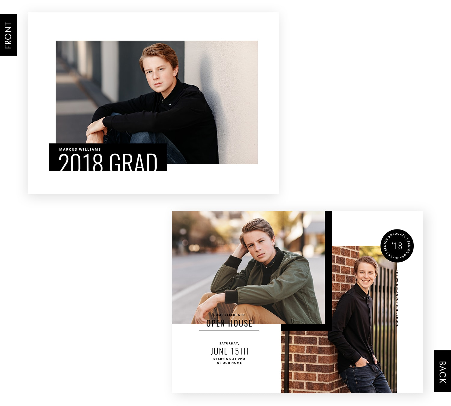 Out of Line Senior Cards