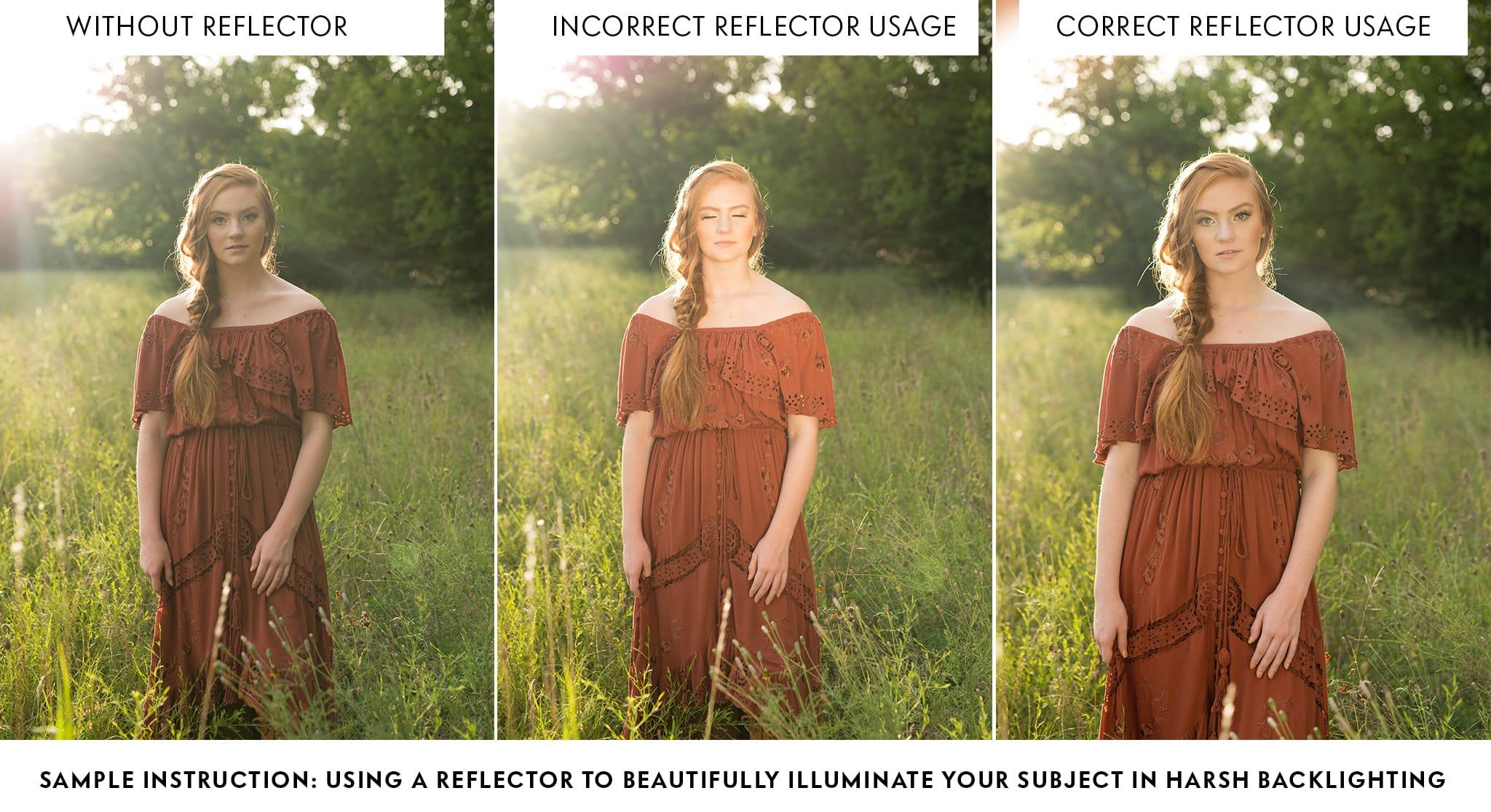 Reflect: shooting tutorial