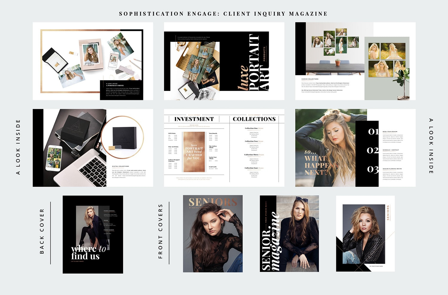Sophistication Engage - Guide to the Client Inquiry Magazine