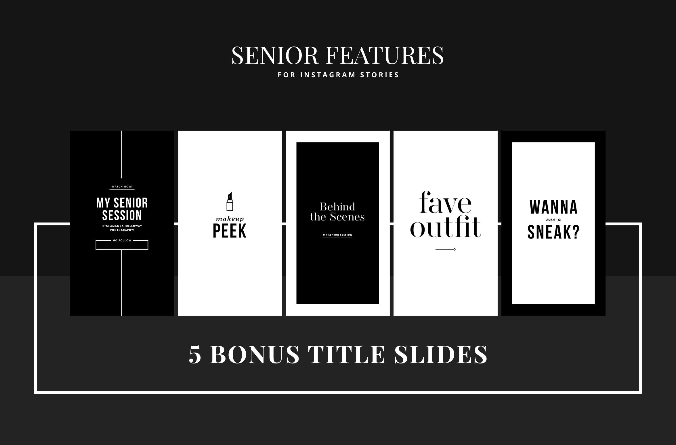 Senior IG Features: Sophistication