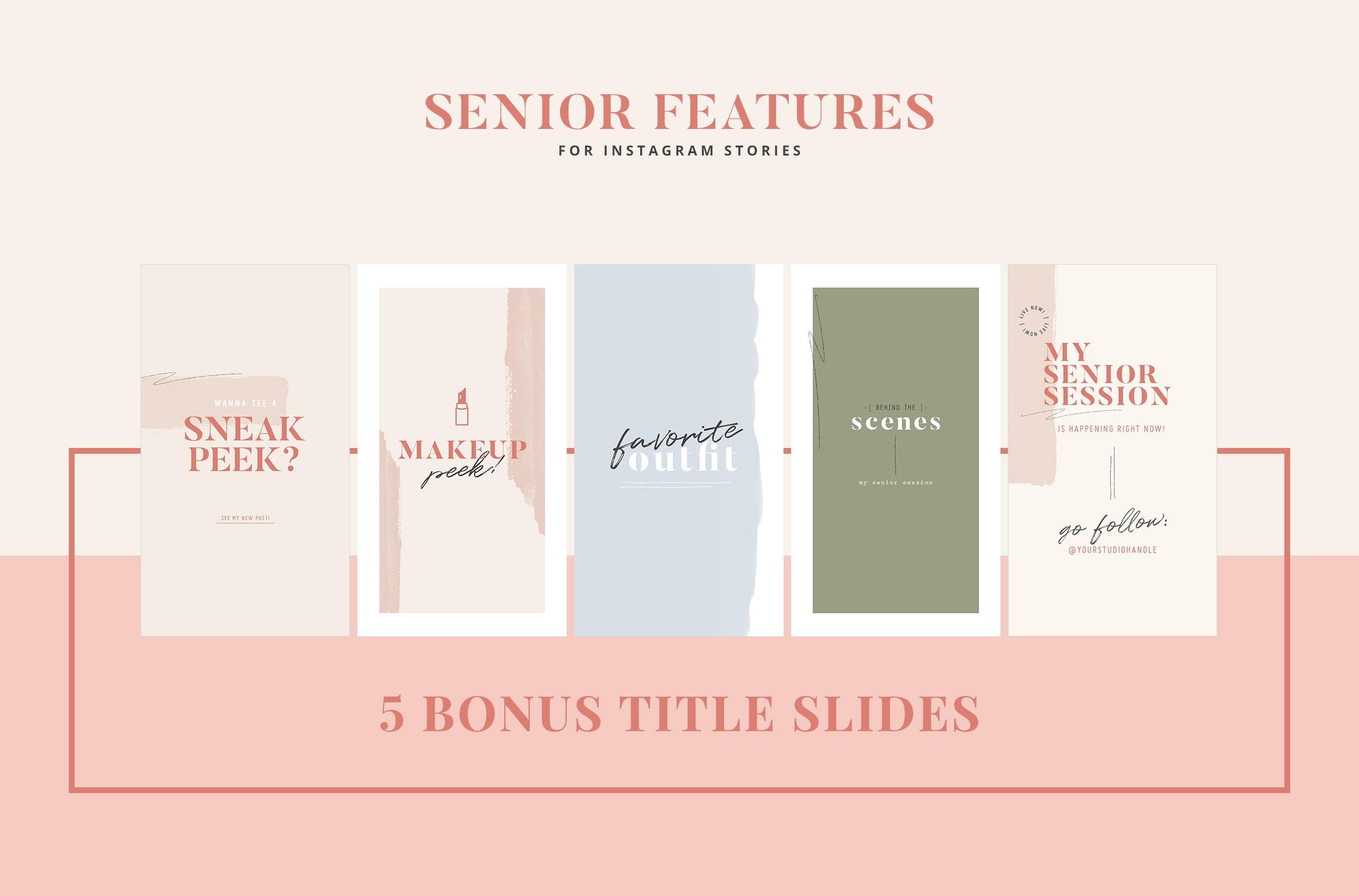Senior IG Features: Organic