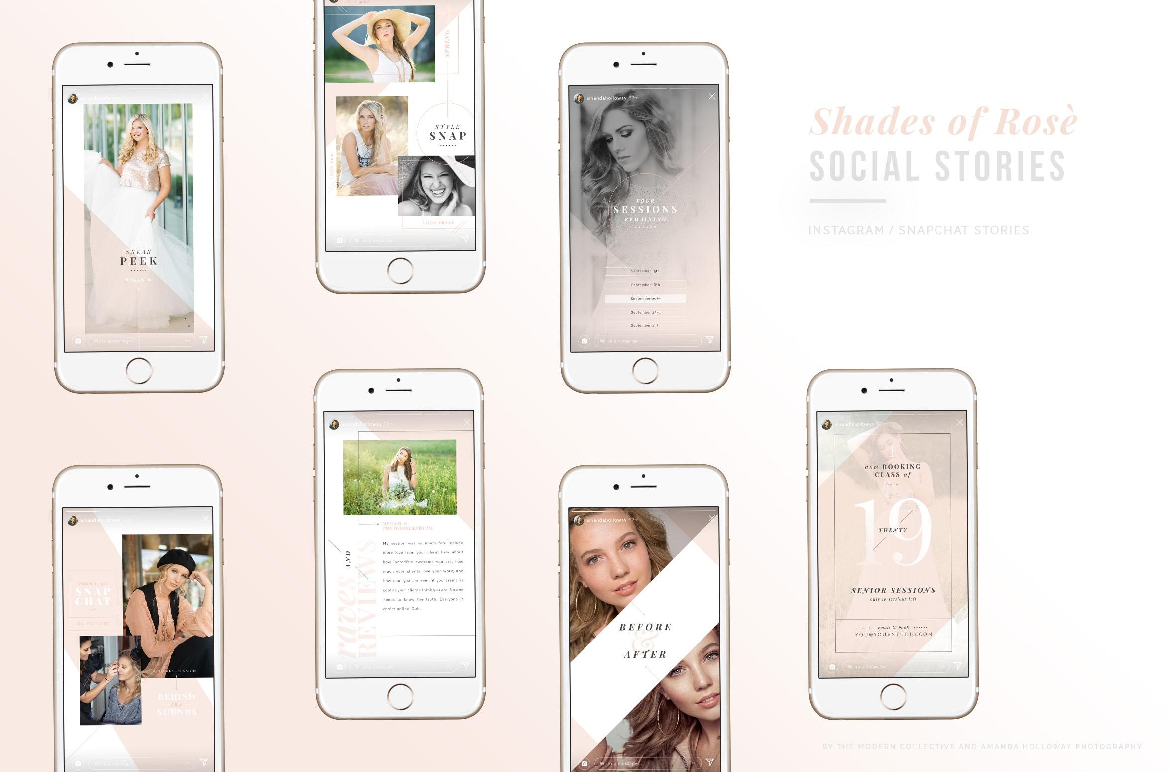 Shades of Rose: SOCIAL STORIES