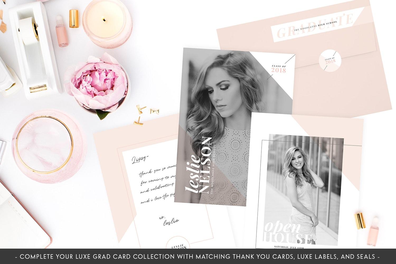 Shades of Rosé Senior Cards