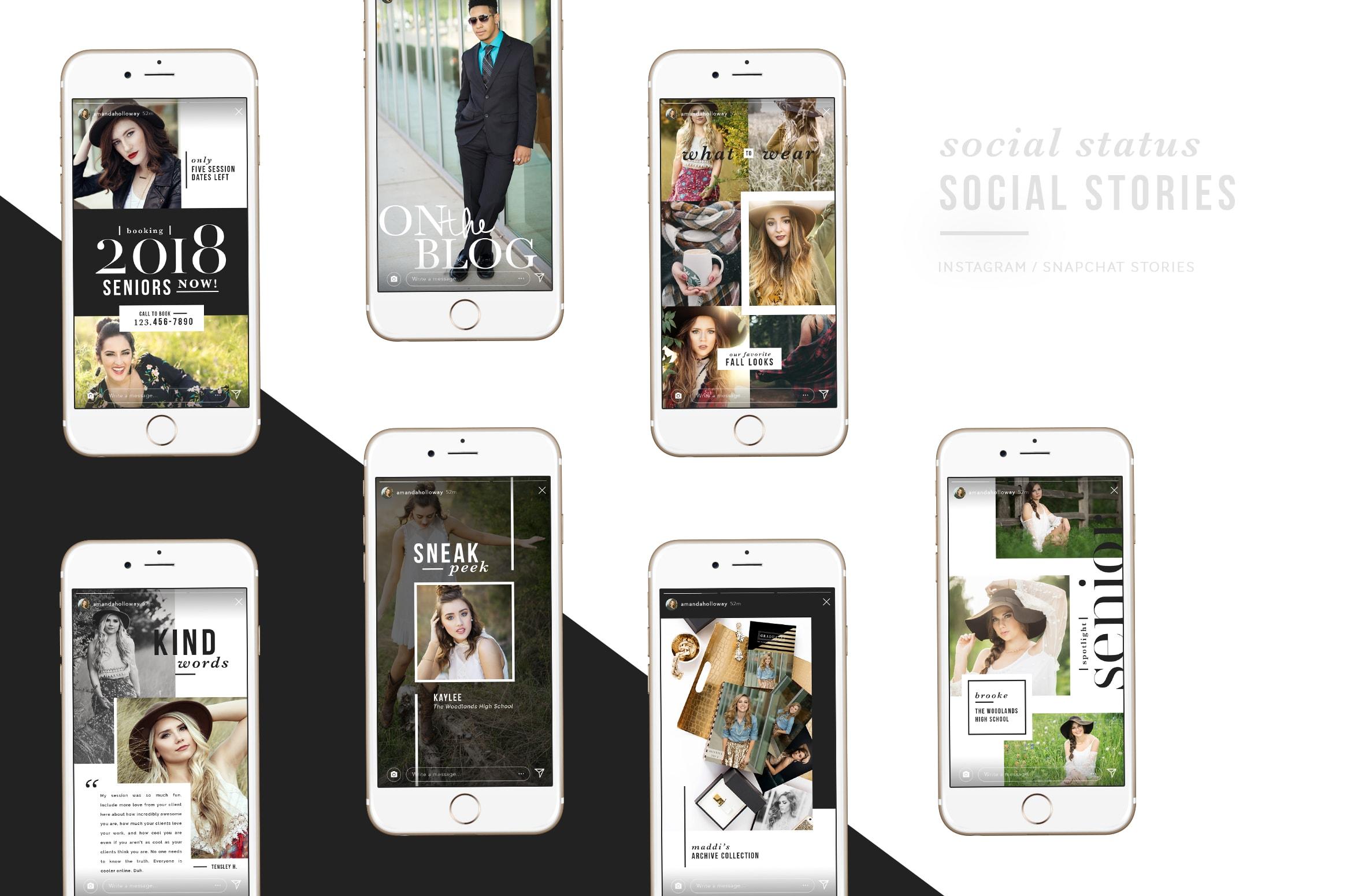 Social Status: SOCIAL STORIES