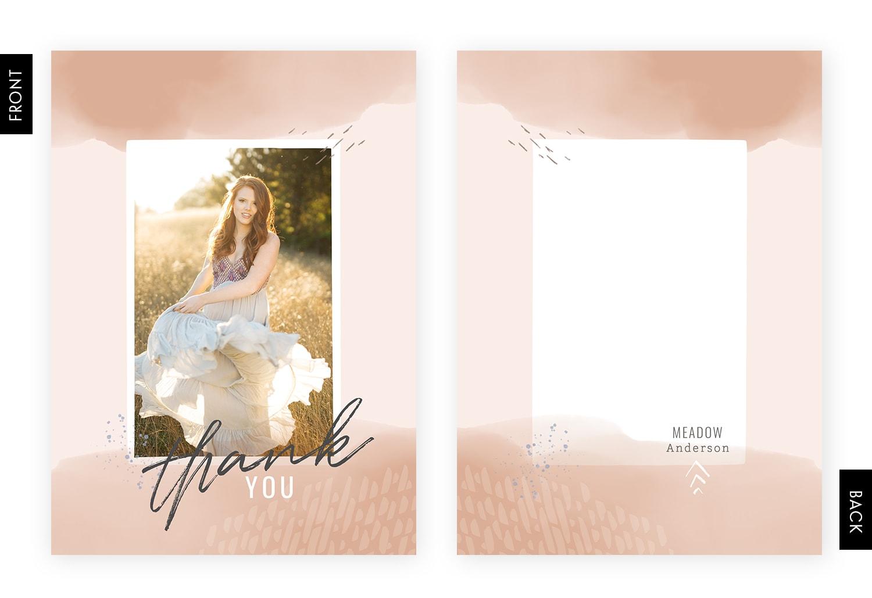 Spring 2018 Thank You Card Collection