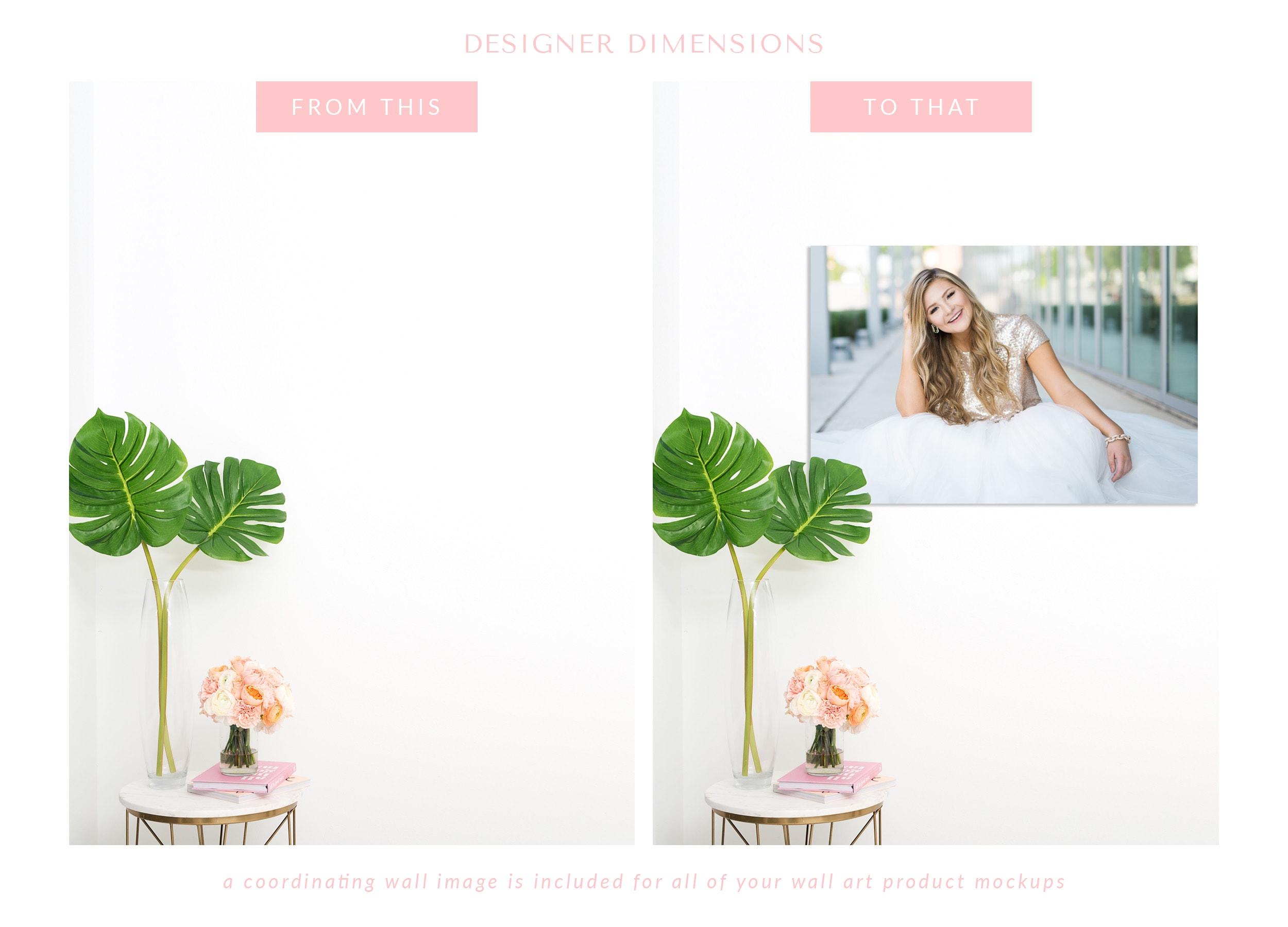 Designer Dimensions V2: Marbled Blush